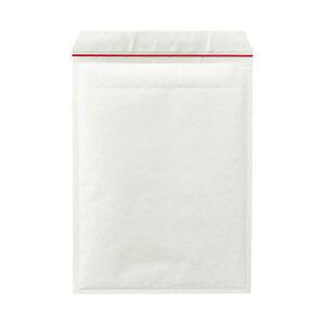 (まとめ)TANOSEE クッション封筒 A4ワイド用 内寸260×350mm 白 1ケース(50枚) 【×3セット】