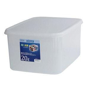 (まとめ) 保存容器/ジャンボケース 【LL 深型】 抗菌効果 キッチン用品 『キーパー』 【×6個セット】 送料込!