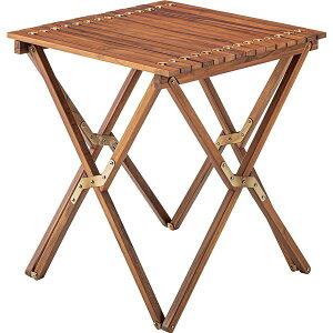 サイドテーブル/ミニテーブル 【幅60cm×奥行60cm×高さ67cm】 木製 本皮/皮革 『ロールトップテーブル』 【組立品】 送料込!