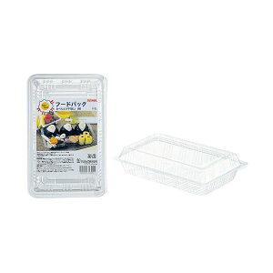 (まとめ)サンナップ フードパック お弁当平型L 5組(×100セット) 送料無料!