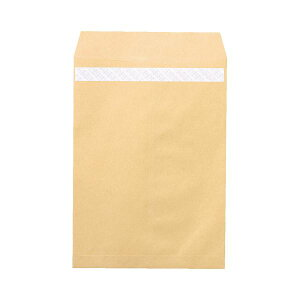 ピース R40再生紙クラフト封筒テープのり付 角2 85g/m2 業務用パック 697 1箱(500枚) 送料込!