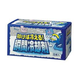 (まとめ) 扶桑化学 叩けば冷える瞬間冷却剤5パック入り【×10セット】 送料込!