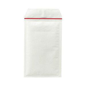 (まとめ)TANOSEE クッション封筒 小物用 内寸130×215mm 白 1ケース(200枚) 【×3セット】