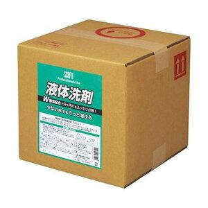 (まとめ)熊野油脂 スクリット 衣料用液体洗剤10L 1箱【×3セット】 送料込!