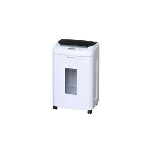 アイリスオーヤマ オートフィードクロスカットシュレッダー (A4サイズ/CD・DVD・カードカット対応) ホワイト AFS100C 送料込!
