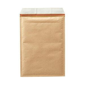 (まとめ)TANOSEE クッション封筒 A4用 内寸235×330mm 茶 1ケース(100枚) 【×3セット】