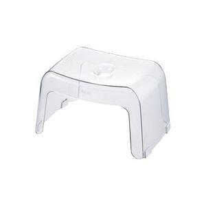 モダン バスチェア/風呂椅子 【ナチュラル 高さ20cm】 通気性抜群 浴槽に掛けて収納可能 『リッチェル Karali』 〔バスルーム〕