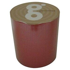 ガムテープ バッグキット 50mm×5m 赤 1巻(ガムテ50X5RD)