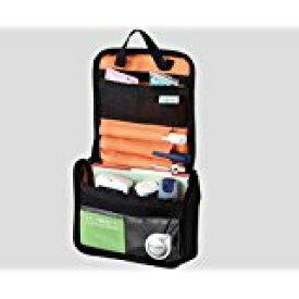 インスリンポーチ(血糖値管理用品ポーチ) ブラック/オレンジNC7-1270-017-1270-01  送料込み!