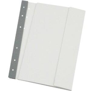 エコメディアファイル スリムA4(本体厚7mm/収納厚5mm) 白 6穴 5冊(EMFA4WS)  送料込み!