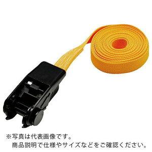 TRUSCO 樹脂製ベルト荷締機 幅25mmX長さ5m 黄