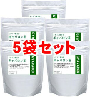 It is economical for 43 yen per five bags of set 1 packs with gabardine Ron tea 32 pack!