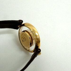 136195【送料無料】【中古】【CHOPARD】【ショパール】ハッピーダイヤモンドK18YGルビー×ダイヤベゼル3Pダイヤ×3Pルビーシルバー文字盤電池式chopardレディース時計
