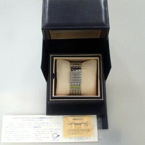 151714【送料無料】【中古】【ショパール】【CHOPARD】アイスキューブSS箱付ミラー文字盤クォーツchopardレディース時計