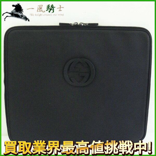 206333【中古】【GUCCI】【グッチ】PCケース ダブルG PVC ブラック(黒) 194297gucci ドキュメントケース パソコンケース 書類カバン ビジネスバッグ