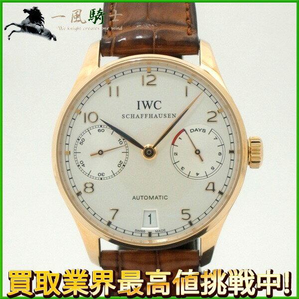 204103【中古】【IWC】【インターナショナル・ウォッチ・カンパニー】ポルトギーゼ 7デイズ IW500101