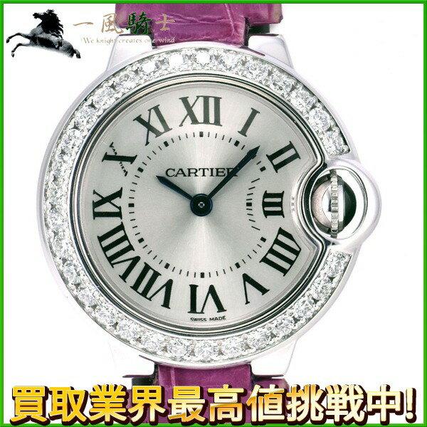 【クーポン利用70,000円OFF】226155【中古】【Cartier】【カルティエ】バロンブルー SM WE900351