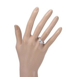 229150【送料無料】【中古】【TIFFANY&CO.】【ティファニー】リボンリングPT950ダイヤモンド1.07ct♯11T&Co.リボンモチーフ11号プラチナ指輪アクセサリーブランドジュエリー