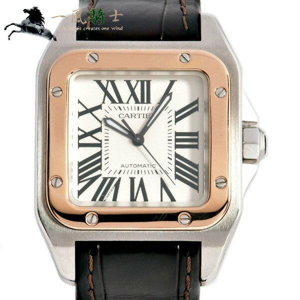 270078【中古】【Cartier】【カルティエ】サントス100 MM W20107X7