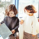 モノブラウス アイボリー グレー ブラック キッズ 男の子 女の子 韓国子供服 90cm 100cm 110cm 120cm