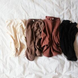 ポケットラッパT クリーム ブラウン レンガ ブラック キッズ 子ども 韓国子供服 男の子 女の子 90cm 100cm 110cm 120cm 130cm