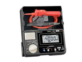 日置電機 IR4055-11 絶縁抵抗計 (HIOKI)<付属品>スイッチ付きリードセットL9788-11 ×1 , 首掛けストラップ ×1, 取扱説明書 ×1, 単3形アルカリ乾電池 (LR6) ×4