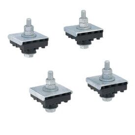 日晴金属 CE-VG エアコン部材 クーラーキャッチャー 防振ゴムキット