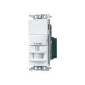 パナソニック WTK1811WK コスモシリーズワイド21[壁取付]熱線センサ付自動スイッチ (2線式・3路配線対応形)(LED専用)(検知後連続動作時間約10秒 - 30分可変形)(明るさセンサ・手動スイッチ付)(ホワイト)