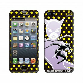 BATMAN(バットマン)×WORLD WIDE LOVE!(ワールドワイドラブ)×Gizmobies/CAT WOMAN【iPhone5/5s専用Gizmobies】