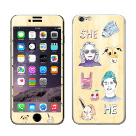 hipBORNtwin(ヒップボーンツイン)×Gizmobies/HE&SHE 【iPhone6/6s専用Gizmobies】