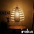 イサムノグチAKARIあかりアカリ1AS(ボーダー)IsamuNoguchiLED電球(E26-40W相当)付属テーブルランプ和紙照明【送料無料】