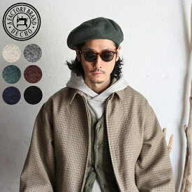 DECHO(デコー) FACTORY BRAND DECHO2019AW BASQUE BERET 6colors バスクベレー(ベレー帽)6色展開 ウール100% 11-3AD19