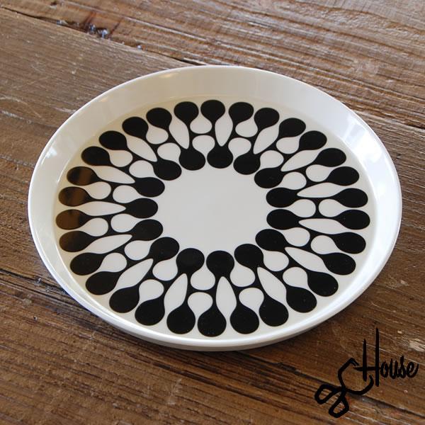 HASAMI×House Industries H PLATE White(ホワイト) 波佐見焼 Hプレート(直径約22cm) 無料ギフトラッピング可