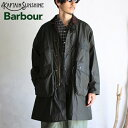 【Kaptain Sunshine × Barbour】 Stand Collar Traveller Coat SAGE GREEN スタンドカラートラベラーコート セージグ…