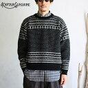 【40%offSALE】【Kaptain Sunshine】Snowy Patterned Sweater スノウィーパターンセーター スノージャガードニットキ…