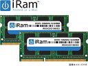 iRam Technology Mac用 SO-DIMM DDR3 1866MHz 16GB(2x8GB) Apple専用増設メモリ