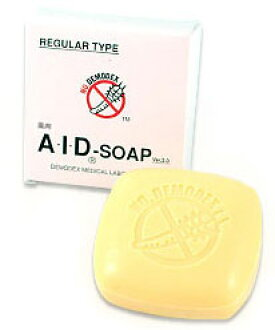 AID SOAP (SOAP face mites) 130 g Dani anti mite acne skin mites face mites measures face mites wash acne Dani