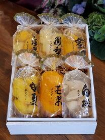 お歳暮 お中元 贈答用 引出物 果実ゼリー詰め合わせ 6パック(白桃・甘夏・パイン・マンゴ・みかん・三種果実)