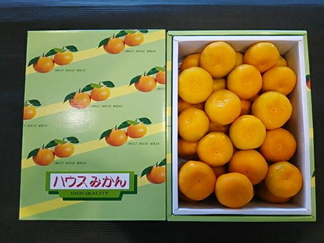 産地熊本県ハウスみかん内容量 S 約2.5kg(25玉〜30玉)