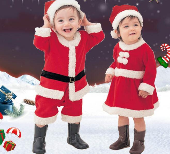クリスマス 衣装 子供服 サンタ キッズ サンタクロース 可愛い 男の子 女の子 コスプレ