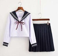 【IRIS】セーラー服2点セット制服コスロリハロウイン女子高生可愛いロリータ