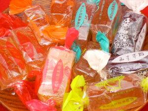 みすず飴 お土産【送料込み】 2袋お試し価格6種類の果物果汁が入った!みすず飴巾着タイプ お徳用!