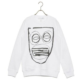 COMME des GARCONS SHIRT コムデギャルソン シャツ カットソー ROUND-NECK TEE S27104 メンズ レディース WHITE PRINT