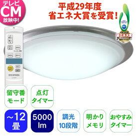 LEDシーリングライト 天井照明 電気 おしゃれ 高効率タイプ 12畳 CL12N-MFE アイリスオーヤマ [公式ショップ限定保証] あす楽
