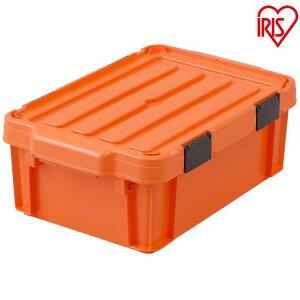 職人の車載ラック専用 密閉バックルコンテナ MBR-13 オレンジ/ブラック (3個セット) アイリスオーヤマ