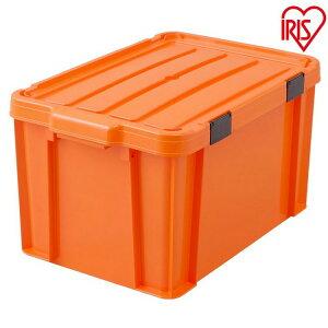 職人の車載ラック専用 密閉バックルコンテナ MBR-45 オレンジ/ブラック (3個セット) アイリスオーヤマ