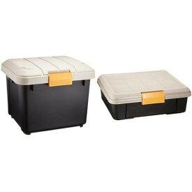 収納 ボックス 収納ボックス 工具箱 フタ付き アイリスオーヤマ 車 RVBOX RVボックス 400 容量28L 幅42×奥行37.5×高さ33