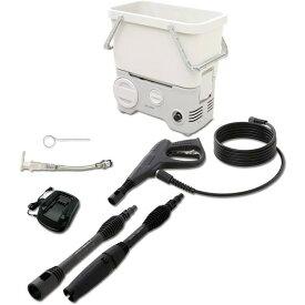 [P5倍!]タンク式高圧洗浄機 充電タイプ ホワイト SDT-L01N アイリスオーヤマ 水圧 クリーナー 高圧 掃除機[公式ショップ限定保証][irispoint]