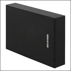 テレビ録画用 外付けハードディスク 4TB HD-IR4-V1 ブラック ハードディスク HDD 外付け テレビ 録画用 録画 縦置き 横置き 静音 コンパクト シンプル LUCA ルカ レコーダー USB 連動 アイリスオーヤマ