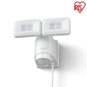 AC式LED防犯センサーライト パールホワイト LSL-ACTN-2400 送料無料 ライト らいと raito 灯り 灯 あかり 光 LED 防犯ライト 玄関ライト 玄関 アイリスオーヤマ
